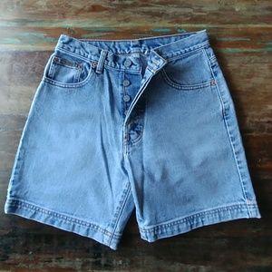 Vintage Calvin Klein size 3 denim shorts